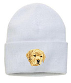 Yellow Labrador Retriever Knit Cap