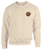 Chocolate Labrador Retriever Crewneck Sweatshirt