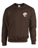 Yellow Labrador Retriever Crewneck Sweatshirt