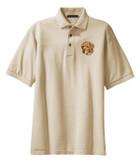 Golden Retriever Polo Shirt