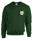 West Highland Terrier Westie Crewneck Sweatshirt