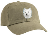 West Highland White Terrier Cap