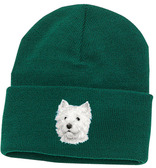 West Highland White Terrier Knit Cap