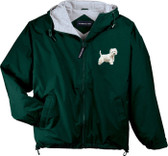 West Highland White Terrier Hooded Jacket