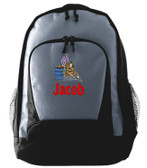 Barrel Racing Backpack Font Shown on Backpack is BANQUET