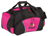 Barrel Racing Duffel Bag Font Shown on Bag is BRIDAL PATH