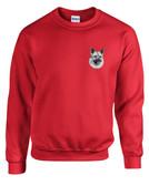Norwegian Elkhound Crewneck Sweatshirt