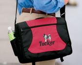 Norwegian Elkhound Bag Font Shown on Bag is PIZZA PIE