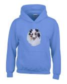 Shetland Sheepdog Sheltie Hooded Sweatshirt