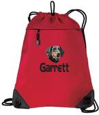 Dachshund Bag Font shown on bag is HANZELA