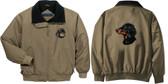 Dachshund Jacket Back & Front Left Chest