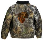 Dachshund Jacket Back