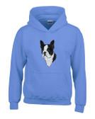 Boston Terrier Hooded Sweatshirt