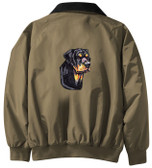 Rottweiler Jacket Back