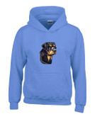 Rottweiler Hooded Sweatshirt