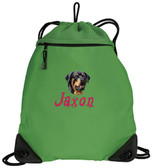 Rottweiler Bag Font shown on bag is STONE EDGE