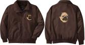 Pug Jacket Front Left Chest & Back