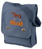 Arabian Field Back Font shown on bag is MASALA
