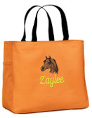 Arabian Tote Bag Font shown on bag is MANILA