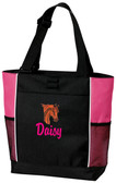 Arabian Tote Bag Font shown on bag is LANCER