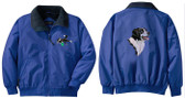 Border Collie Jacket Back & Front Left Chest