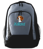 Beagle Backpack Font shown on bag is BEVERLY