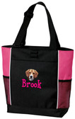 Beagle Tote Font shown on bag is BOYZ