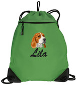 Beagle Bag Font shown on bag is BRUSH