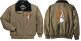 Beagle Jacket Back & Front Left Chest