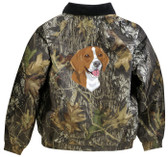 Beagle Jacket Back
