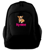 Corgi Backpack Font shown on back is BRITTANICA
