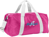 Personalized Overnigt Duffel Bag  - Embroidered with Name or Lettering of Your Choice