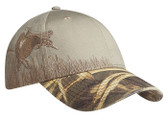 Embroidered Duck Camouflage Cap