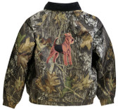 Airedale Terrier Mossy Oak® Jacket - Camouflage Embroidered Back