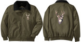 Deer Jacket Back and Front Left Chest