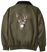 Deer Jacket Back