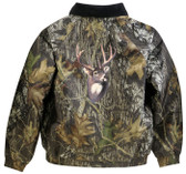 Deer Mossy Oak® Jacket - Camouflage Embroidered Back