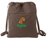 Rhodesian Ridgeback Bag Font shown on bag is ALPINE