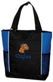Rhodesian Ridgeback Tote Font shown on bag is ARGENTINA
