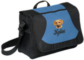 Rhodesian Ridgeback Computer Bag Font shown on bag is BALLPARK