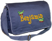 Personalized Toy Dinosaurs Diaper Bag Font shown on diaper bag is BOYZ