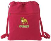 French Bulldog Bag Font shown on bag is CAVEMAN