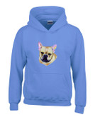 French Bulldog Hooded Sweatshirt