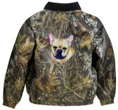 French Bulldog Jacket Back