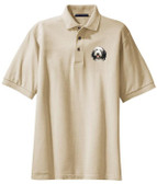 Bearded Collie Polo Shirt