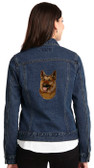 German Shepherd Denim Jacket