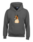Boxer Hooded Sweatshirt