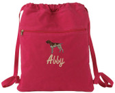 German Shorthair Bag Font shown on bag is INDUSTRIAL SCRIPT