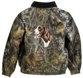German Shorthair Jacket Back