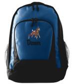 Sulky Backpack Font shown on bag is LANCER